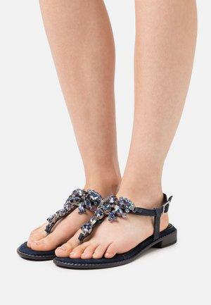 BY GUIDO MARIA KRETSCHMER - T-bar sandals - navy