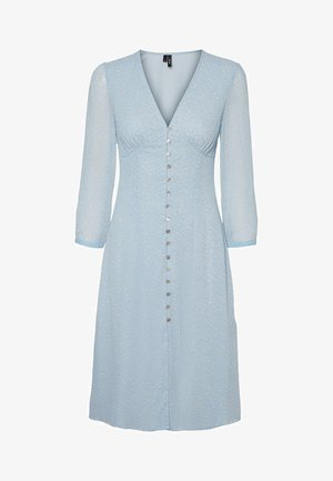 V-AUSSCHNITT - Day dress - placid blue