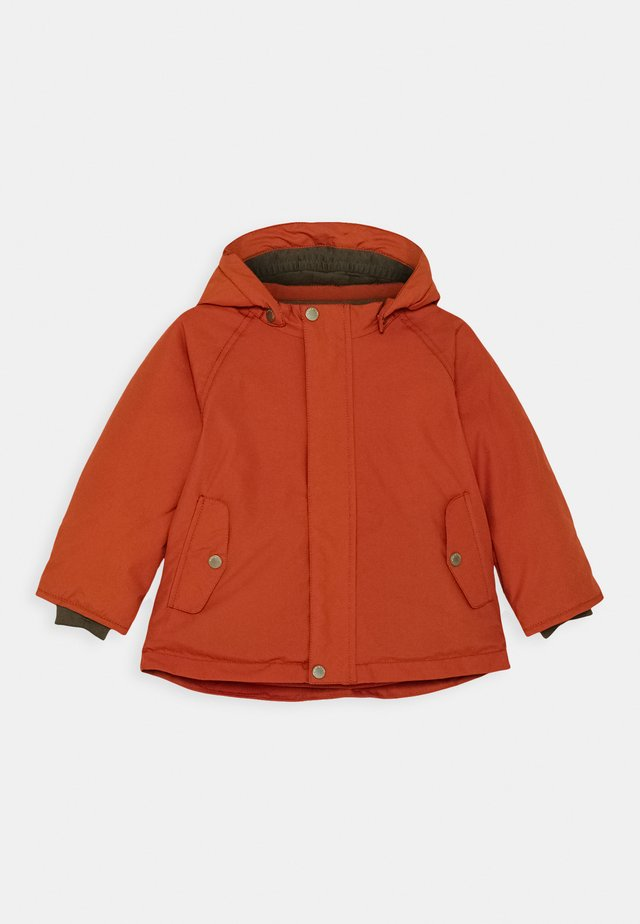 WALLY JACKET UNISEX - Veste d'hiver - rooibos tea orange
