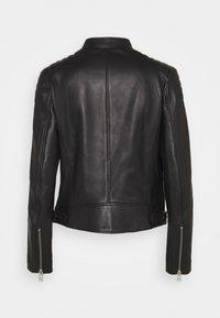 Belstaff - NEW MOLLISON JACKET - Veste en cuir - black - 10