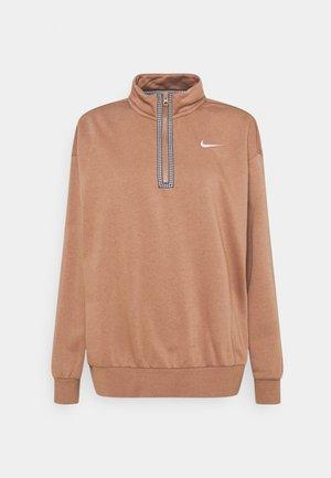 Sweatshirt - archaeo brown/(white)