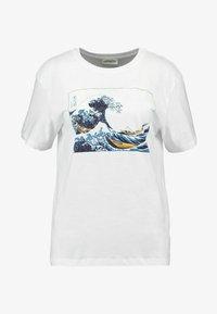 Even&Odd - Printtipaita - white - 3
