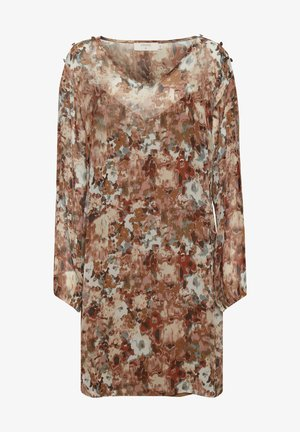 Robe d'été - vintage rose print