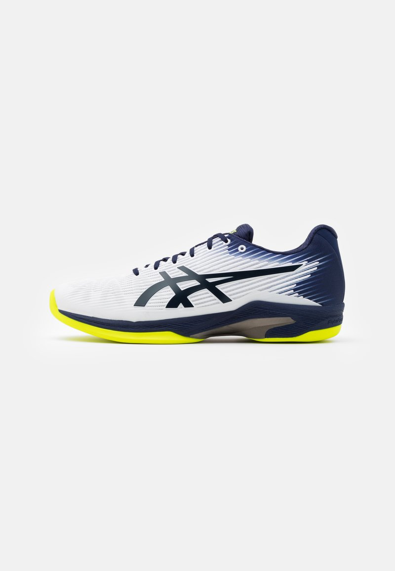ASICS - SOLUTION SPEED FF INDOOR - Tennissko til tæppe - white/peacoat