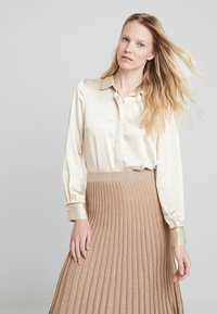 Derhy - OAKLAND - A-line skirt - beige - 3