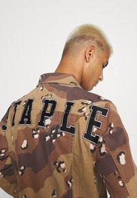 STAPLE PIGEON - UNISEX JACKET - Denim jacket - sand - 4