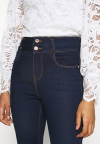 New Look - LIFT AND SHAPE HIGHWAIST - Jeans Skinny Fit - blue - 4