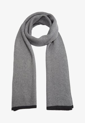 Scarf - light grey stripes