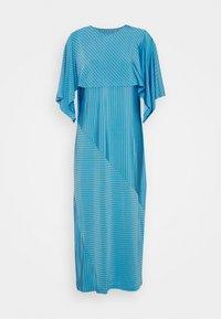 MM6 Maison Margiela - Žerzejové šaty - blue - 4