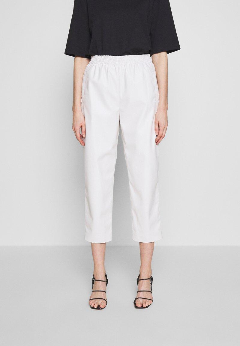 Pinko - SADIE PANTALONE - Kalhoty - off white