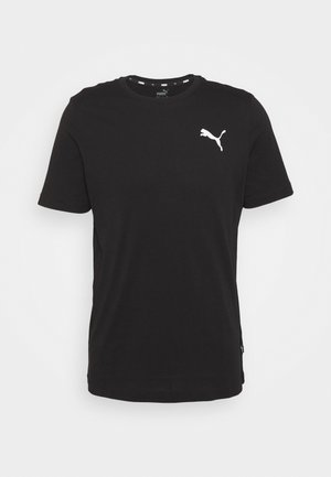 ESS SMALL LOGO TEE - T-shirts - puma black cat