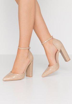 MAHI - Zapatos altos - nude