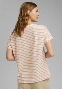Esprit - Print T-shirt - orange red - 3