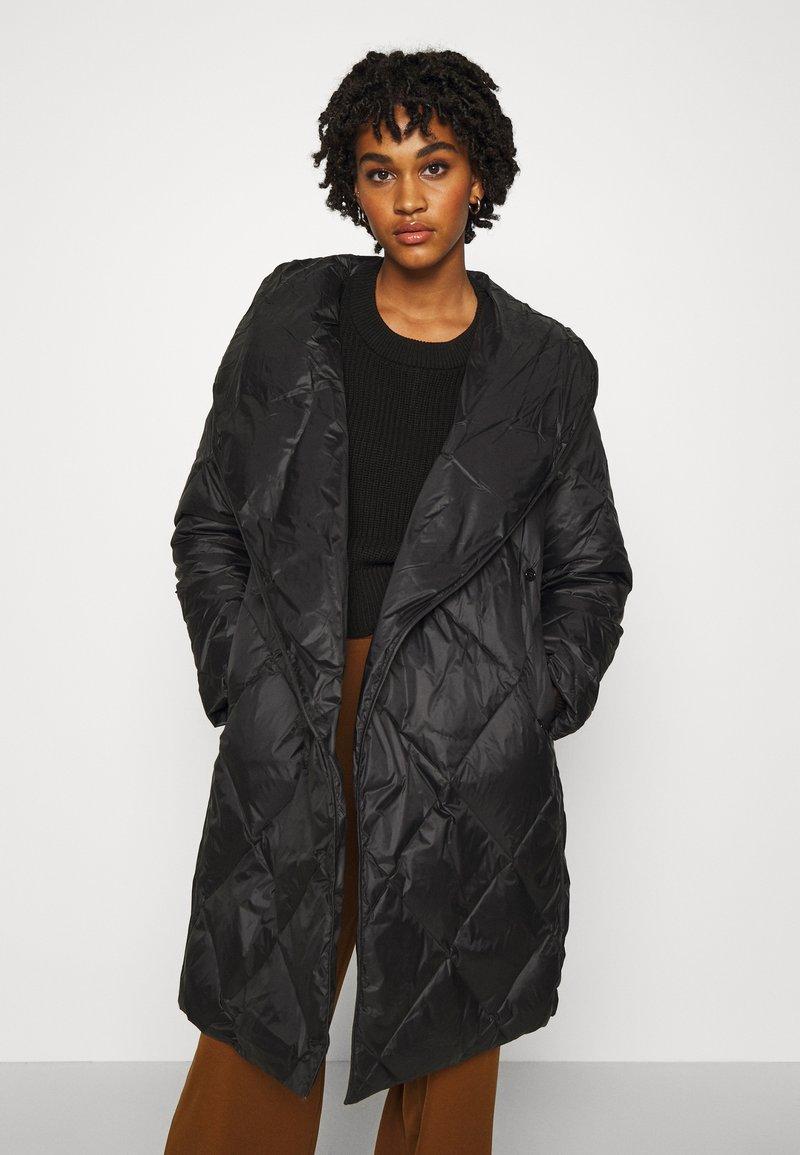 YAS - YASROMANA JACKET - Down coat - black