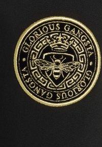 Glorious Gangsta - ARMANDO - Pantaloni sportivi - jet black - 5