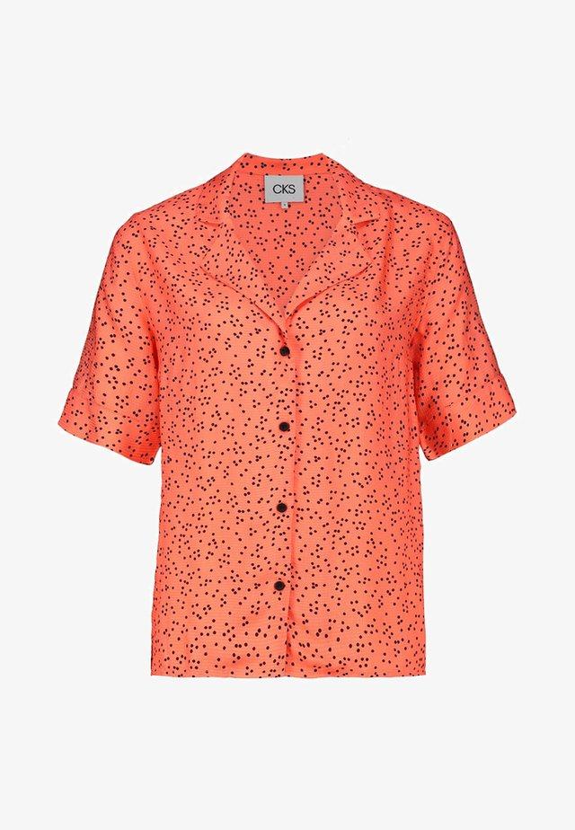 LIKO - Button-down blouse - coral