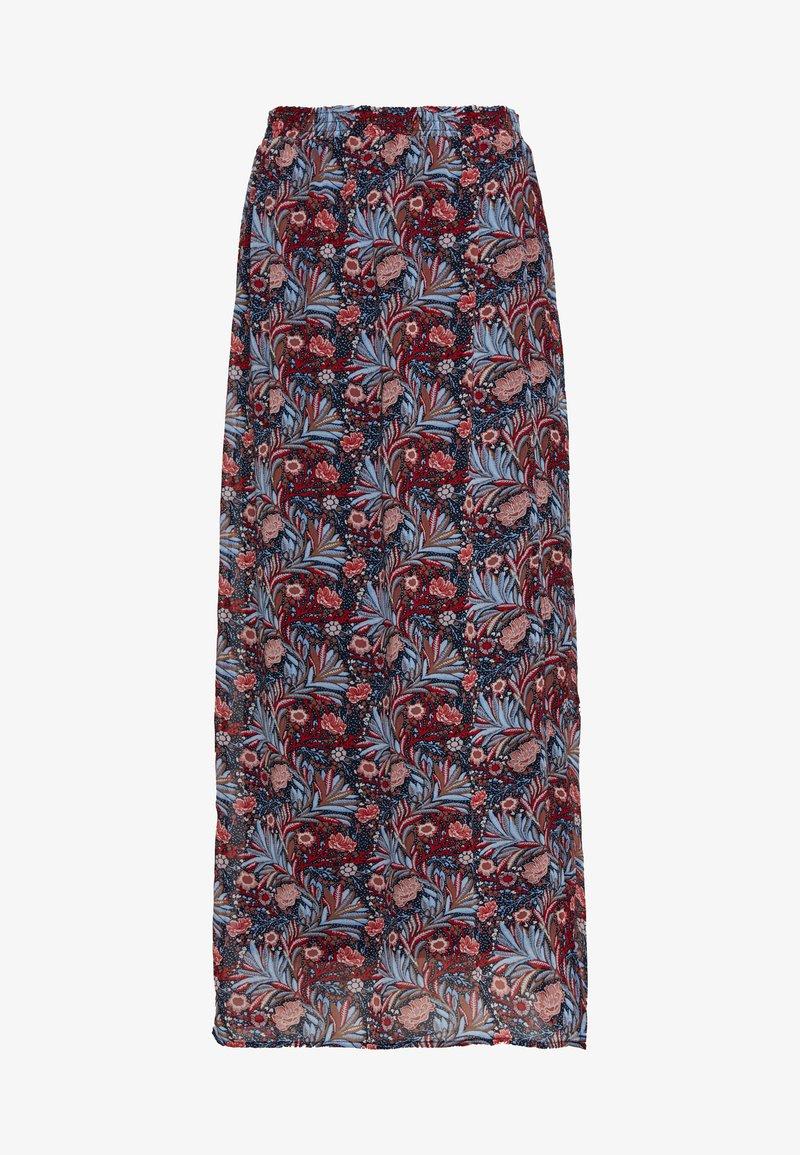 Vero Moda - VMDIRIS ANCLE SKIRT  - Maxi sukně - goji berry