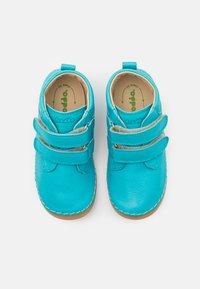 Froddo - PAIX UNISEX - Boty se suchým zipem - turquoise - 3