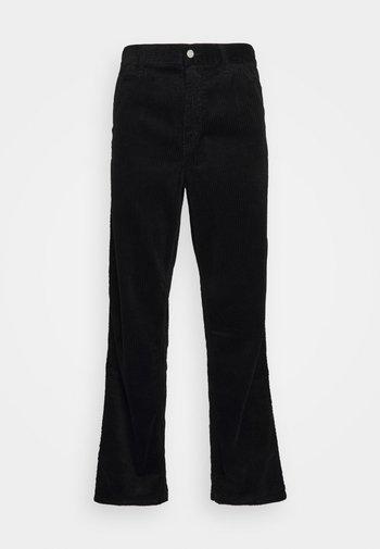 SINGLE KNEE PANT URBANA - Kalhoty - black rinsed