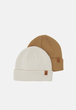 2 PACK - Pipo - off-white/camel