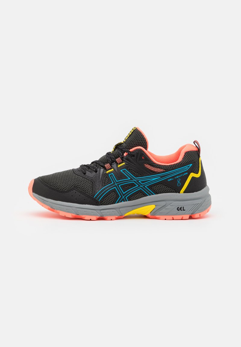 ASICS - GEL-VENTURE 8 - Chaussures de running - black/digital aqua