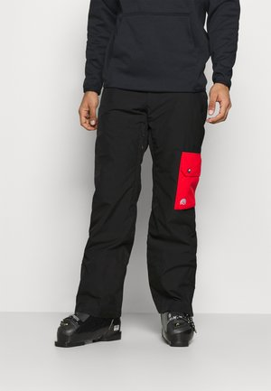FRESH POW PANT - Snow pants - black