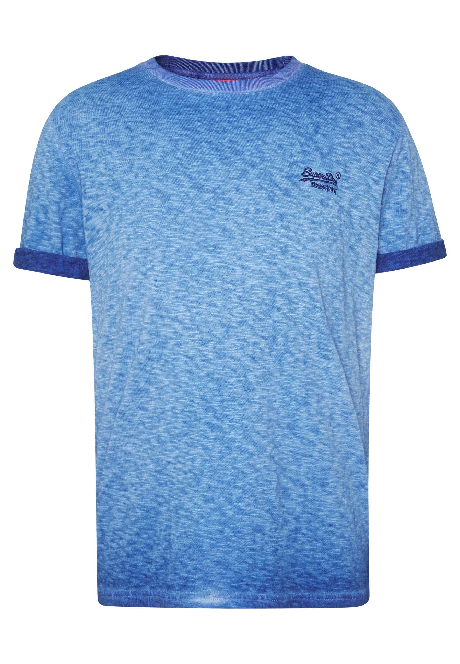 Superdry T-shirts - True Blue/blå