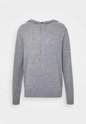 NAKKNE - Sweat à capuche - med grey mel