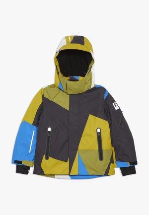 WHEELER - Ski jacket - yellow moss