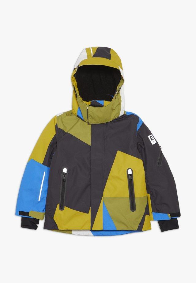 WHEELER - Chaqueta de esquí - yellow moss