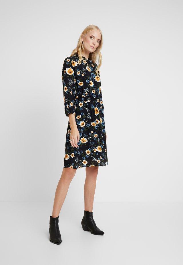 DRESS SHORT - Sukienka letnia - black multi