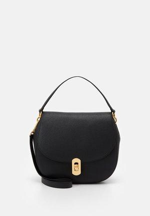 ZANIAH FLAPOVER SHOULDER - Handbag - noir