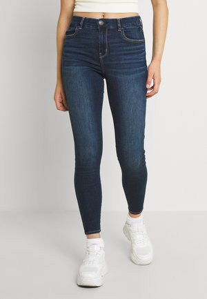 CURVY - Jeans Skinny Fit - dark reflections