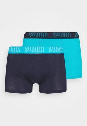 BASIC TRUNK 2 PACK - Culotte - aqua/blue