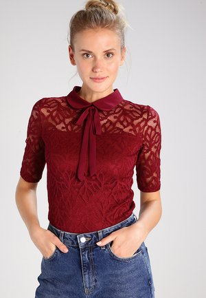 TINCO - Blouse - bordeaux