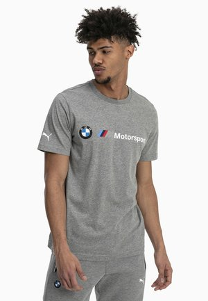 BMW MMS LOGO TEE - Print T-shirt - medium gray heather