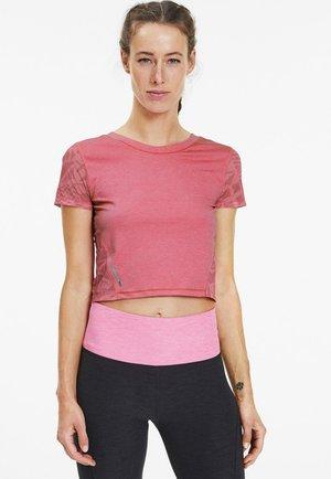 STUDIO - Print T-shirt - bubblegum heather