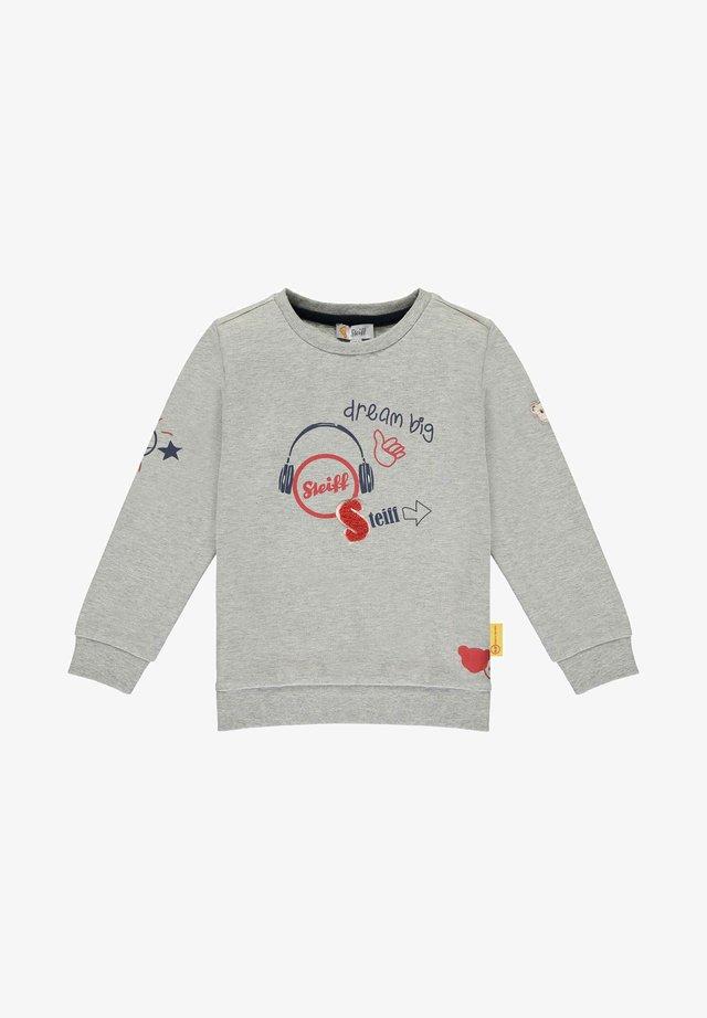 DREAM BIG - Sweatshirt - soft grey melange