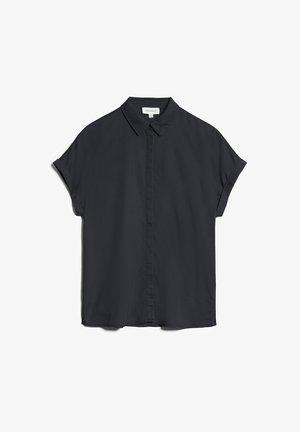ZONJAA - Button-down blouse - deep anthra