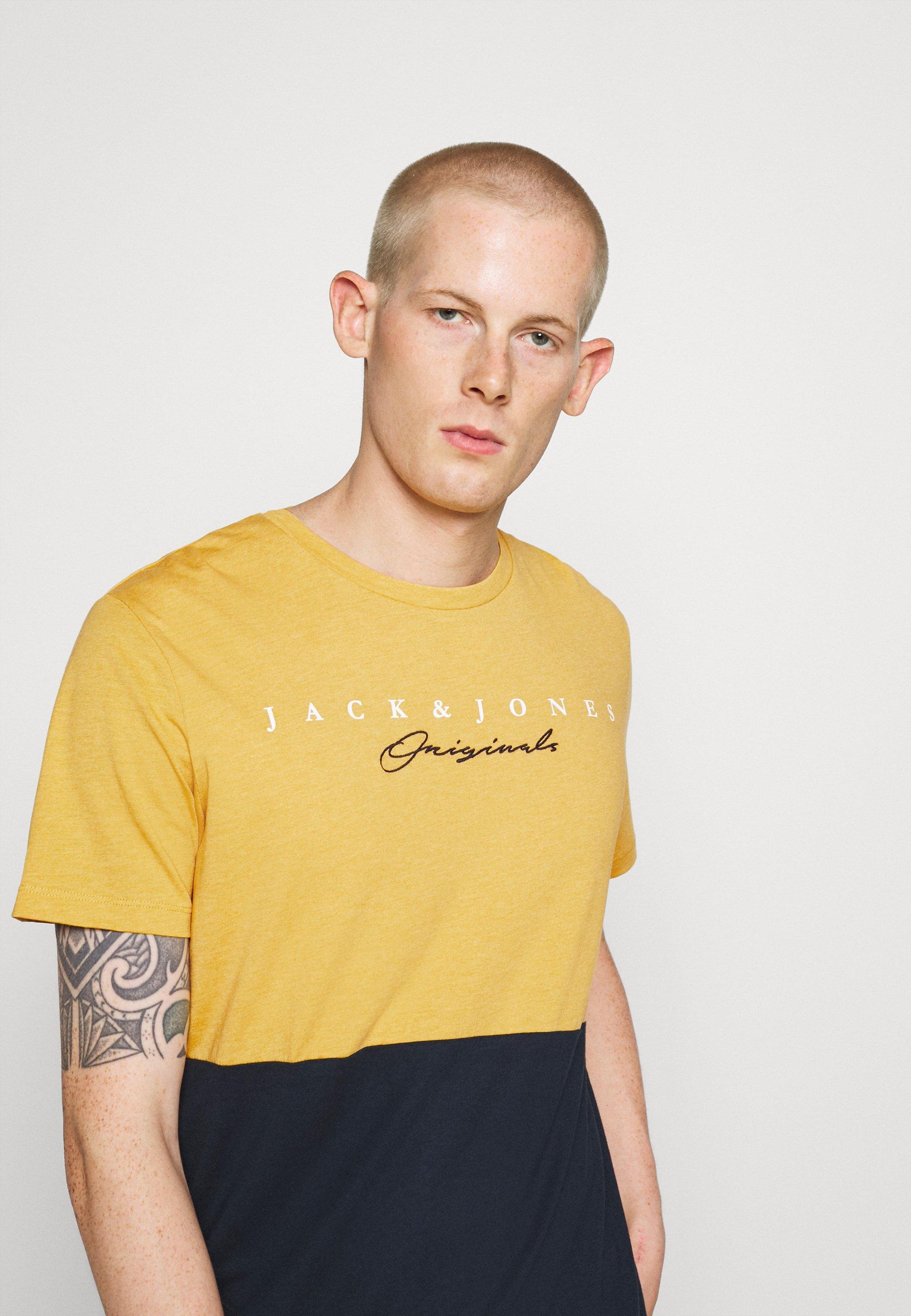 Men JORSTATION - Print T-shirt