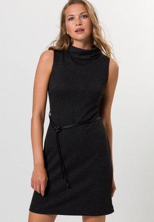 MIT GÜRTEL - Day dress - anthracite