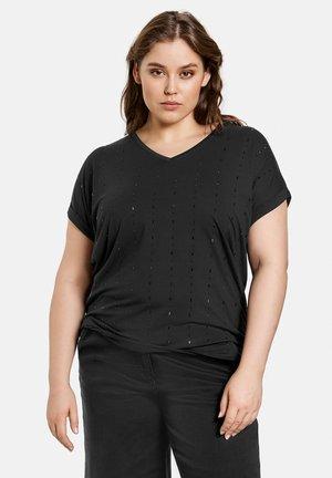 MIT STEINCHENZIER - T-shirt print - black