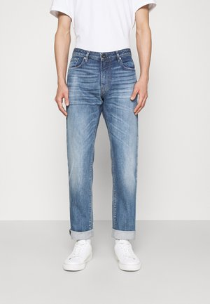 POCKETS PANT - Straight leg jeans - denim blue
