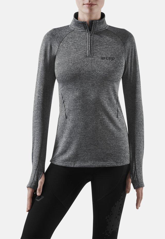 Sports shirt - black melange