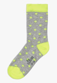 s.Oliver - ONLINE JUNIOR FASHION 6 PACK - Ponožky - neon yellow - 3