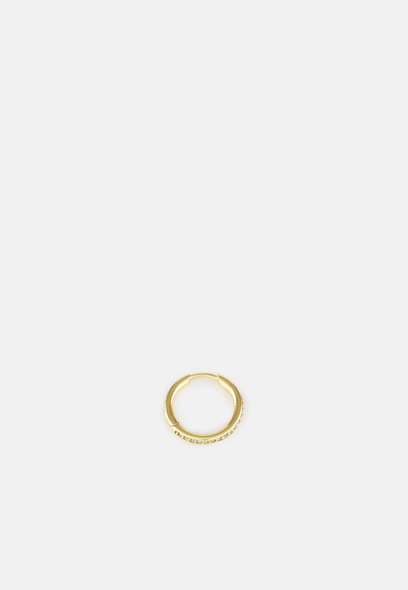 Maria Black - MICA HUGGIE MINT SINGLE - Ohrringe - gold-coloured
