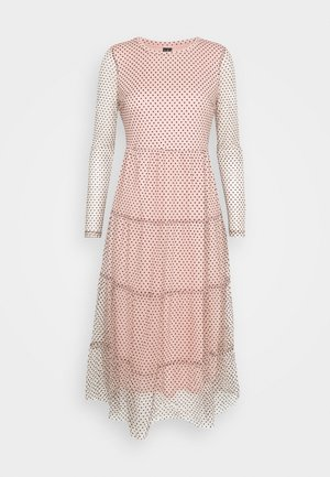 VMJUANA DRESS - Day dress - misty rose/black