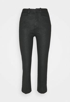 BASKET - Spodnie materiałowe - schwarz