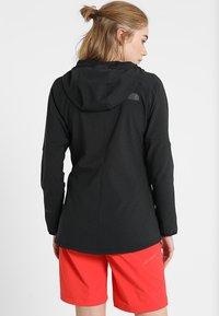 The North Face - W APEX NIMBLE HOODIE - Waterproof jacket - black - 2