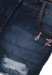 MINOTI - Denim shorts - blue denim - 2